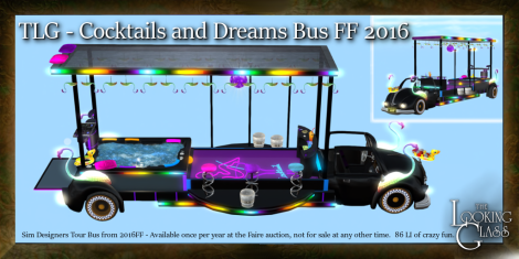 TLG - Cocktails and Dreams Bus FF 2016
