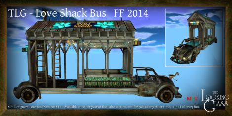 TLG - Love Shack Bus 2014