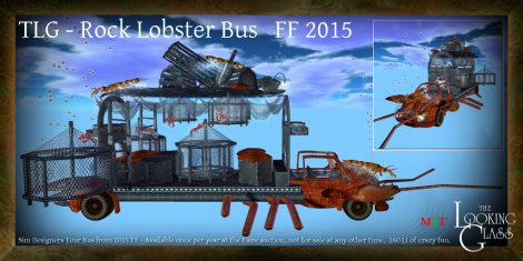 TLG - Rock Lobster Bus FF 2015