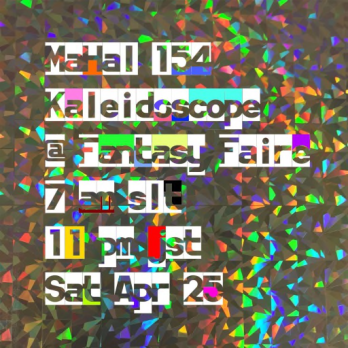m154 kaleidoscope poster