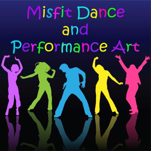Misfit Dance & Performance Art logo
