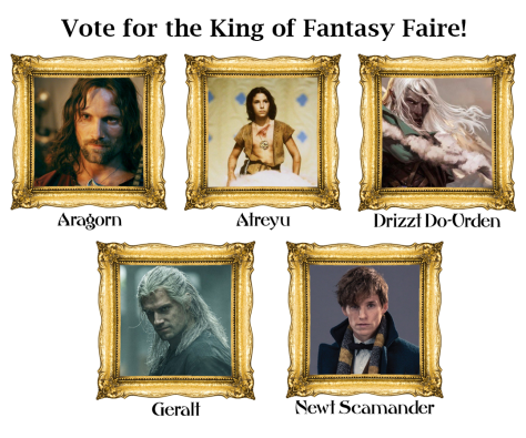 Nominees for the King of Fantasy Faire