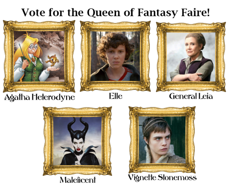Nominees for the Queen of Fantasy Faire