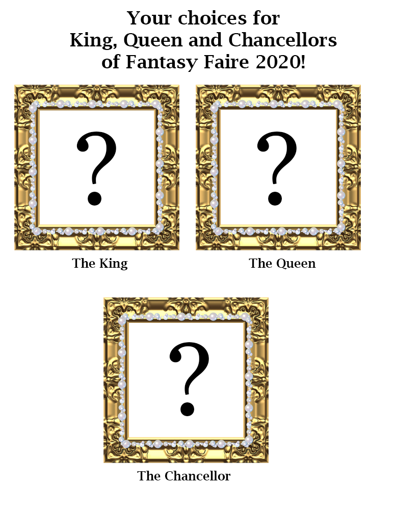 Who will be the Rulers of Fantasy Faire 2020?