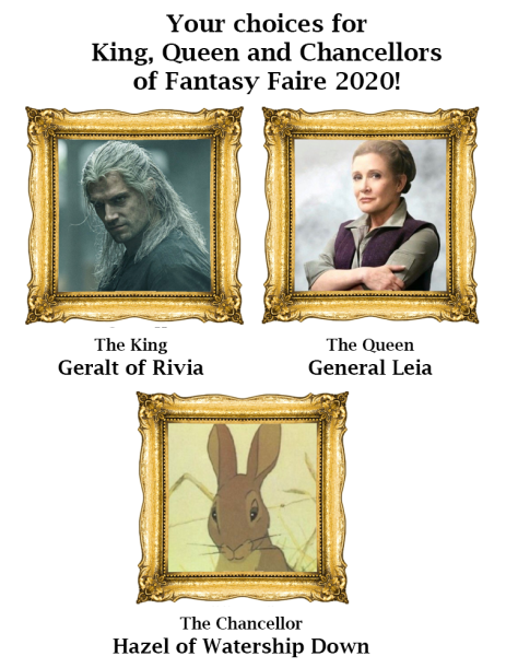 The Rulers of Fantasy Faire 2020