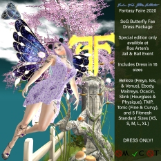 SoG Butterfly Fae Dress Poster