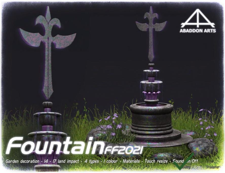 ABADDON ARTS FF 2021 Fountain [Exclusive]