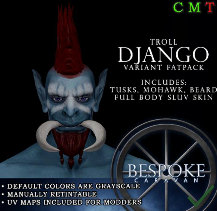 Be Spoke - Troll Django - Variant 2 FatPack