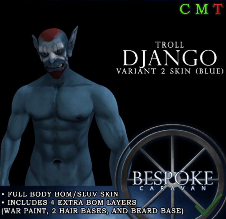 Be Spoke - Troll Django - Variant 2 Skin