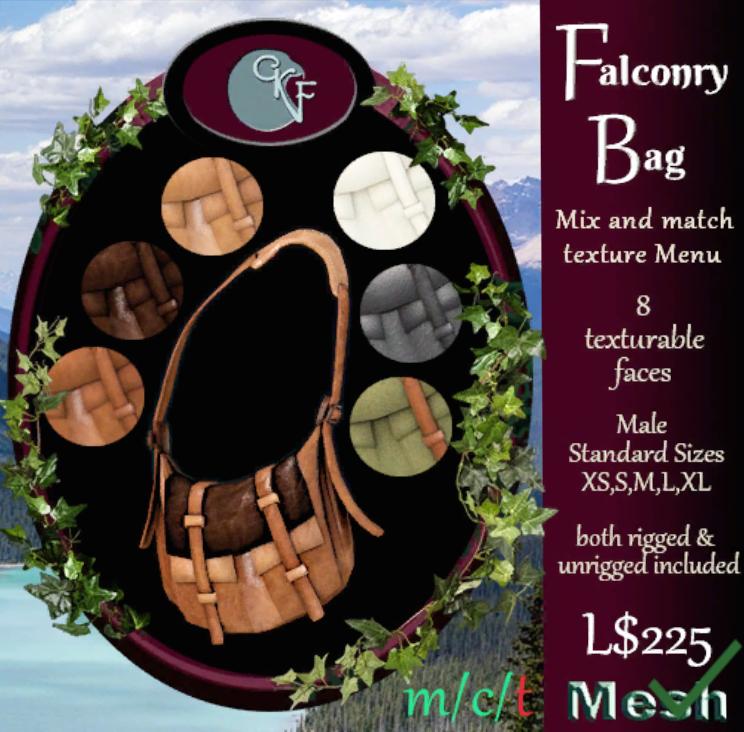 CKit Falconry - Falconry Bag Male