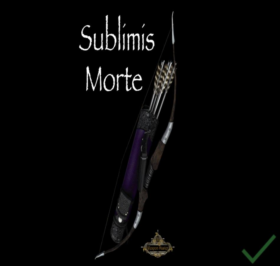 """Dragon Lance Designs - DLD """"SUBLIMIS MORTE"""" BOW"""
