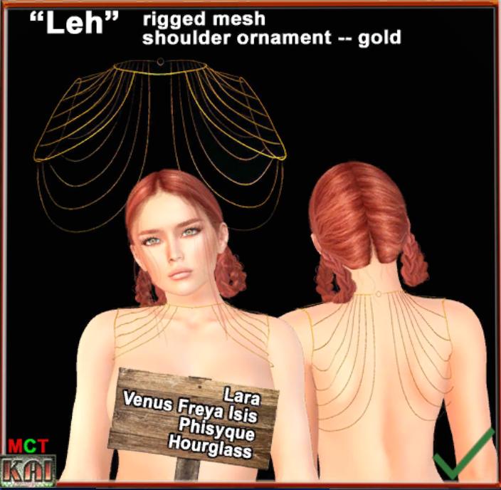 KAI Designs - *KD* Leh harness gold nnbx