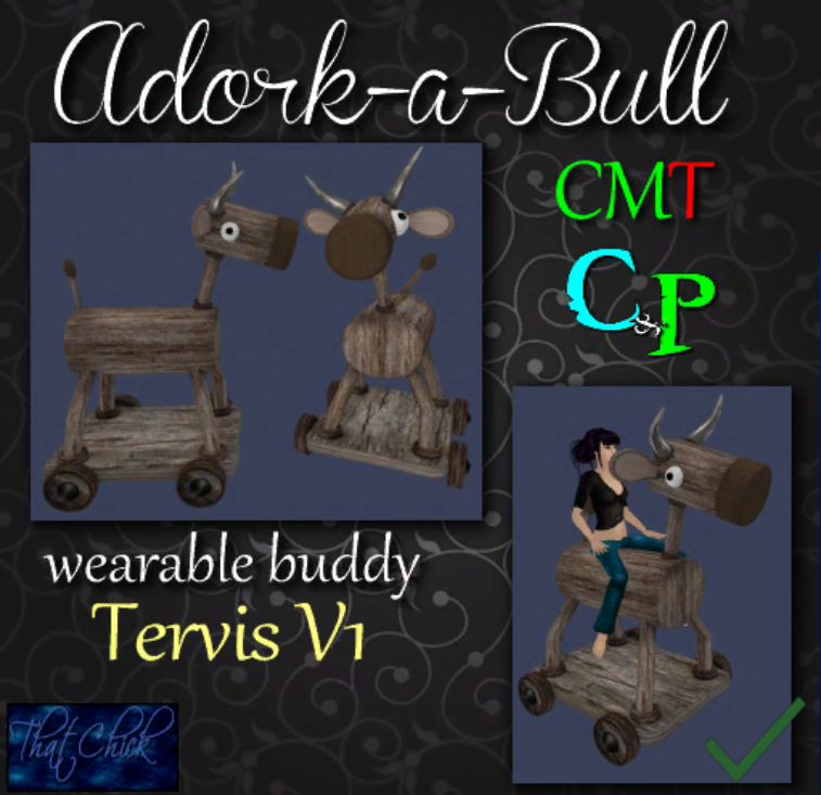 That Chick ~tc~ CP Adork-A-Bull - Tervis