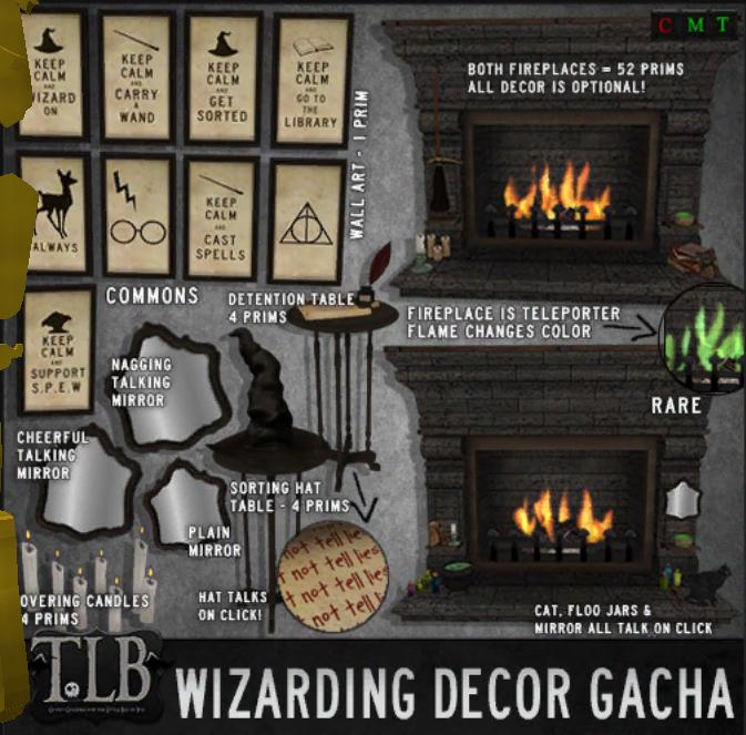 The Little Bat !TLB - Wizarding Decor Gacha