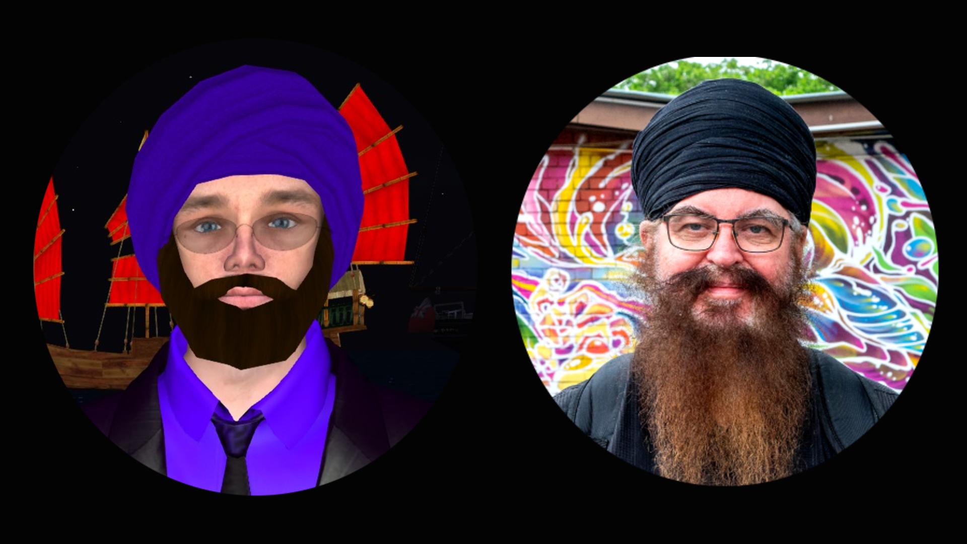 Singh Albatros and Chis Mooney-Singh