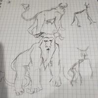 Yeti Sketch _ Scrimshaw Warrens